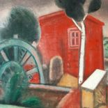 Old Mill, 2012, oil painting, 60 x 80