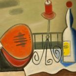Red Mandolin. 2011. oil painting, 60 x 80
